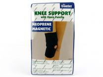 Mens Ladies Neoprene Magnetic Knee Support with Open Patella Magnets Health
